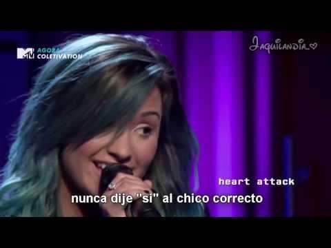 Demi Lovato- Heart Attack- Acoustic- Subtitulado español