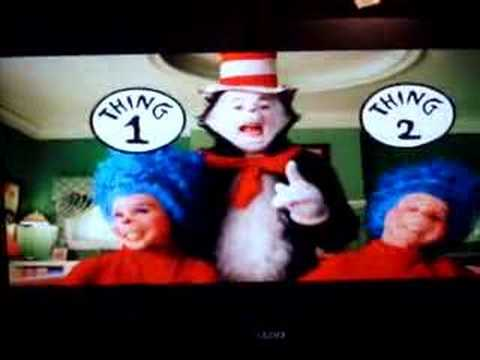 cat in the hat thing 1 and 2 youtube