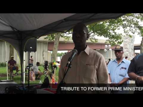 Tribute to Former Prime Minister Patrick Manning