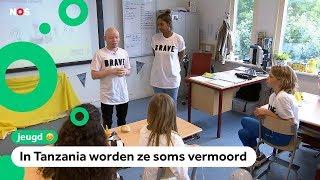 Kinderen krijgen les over albinisme: 'het kan gevaarlijk zijn'