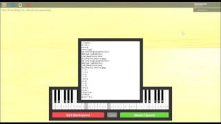 (Roblox Virtual Piano) We are number one/Sheets