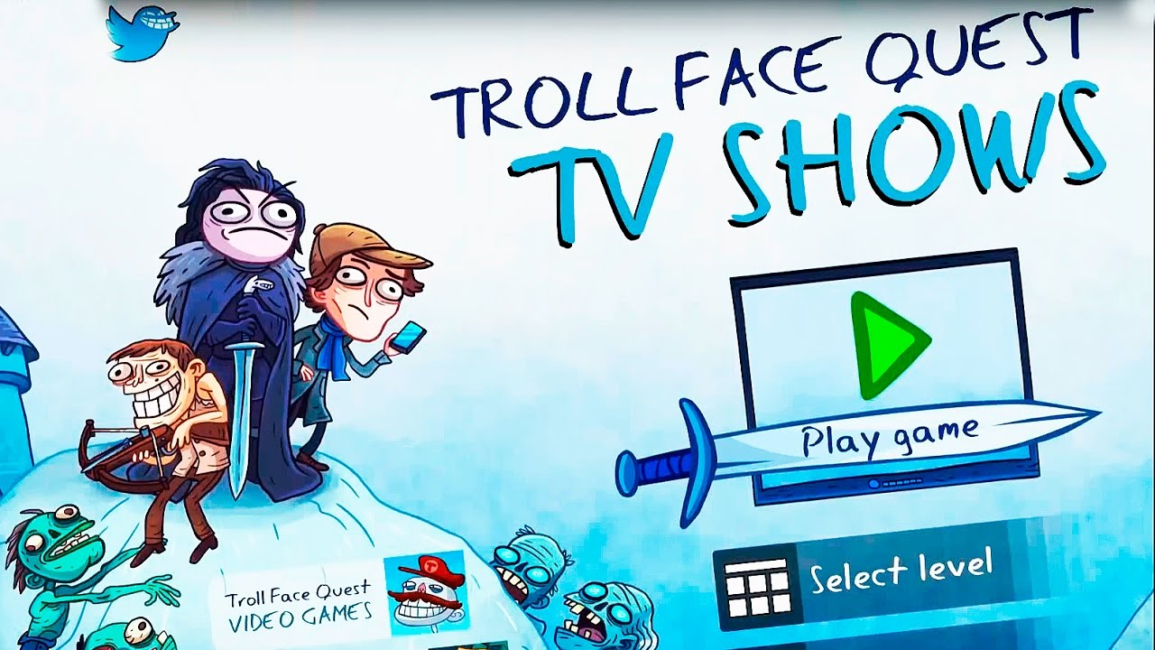 Troll Face Quest TV Shows All Secrets LEVELS IOS ANDROID ...