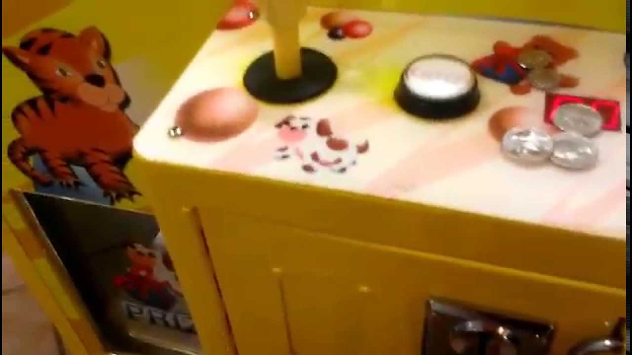 namco claw machine