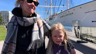 Sofie ja Laura: Ilman merta ei voisi uida eikä kalastaa, Forum Marinum