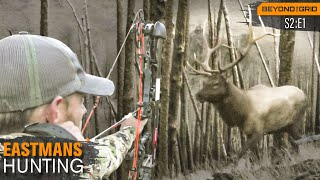 Bowhunting Big Wyoming Bulls with Grizzlies - Beyond the Grid by Eastmans'