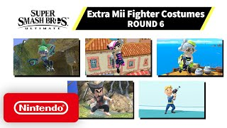 Super Smash Bros. Ultimate - Mii Fighter Costumes #6 - Nintendo Switch