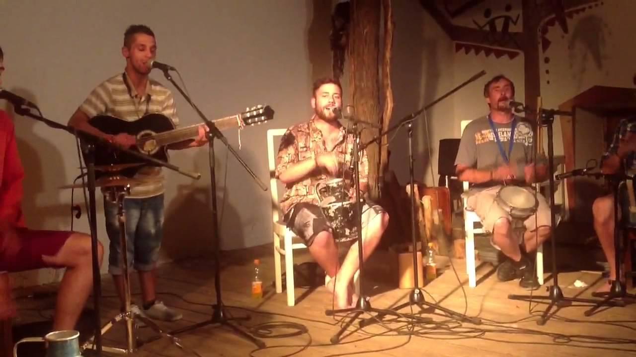 Ozora 2014 Gypsy Shambok House Abschluß Party Zigeuner Musik