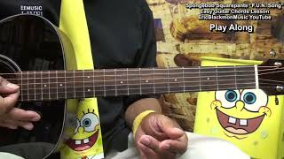 Spongebob Squarepants FUN Song Guitar Lesson - EEMusicLIVE