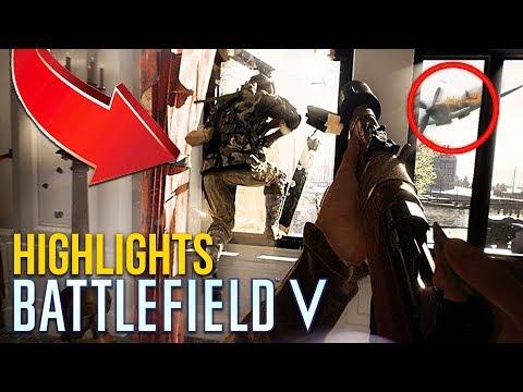 BATTLEFIELD 5 HIGHLIGHTS!! (Battlefield V Open Beta Multiplayer Gameplay)