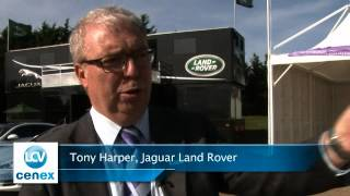 Tony Harper Jaguar Land Rover Speaking at LCV2012
