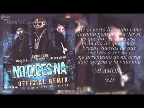 Descarga: Ñengo Flow - No Dice Na (Mix) - elgenero.com