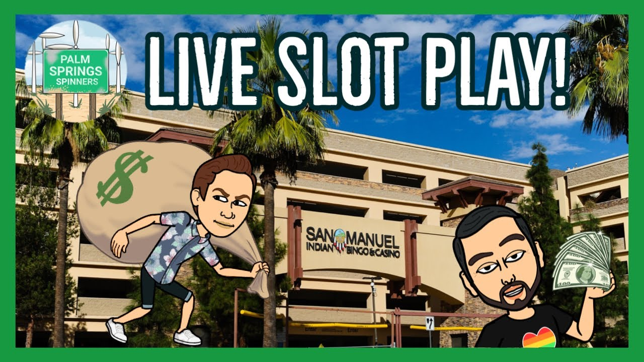 🔴 Palm Springs Spinners 🎰 LIVE SLOTS!