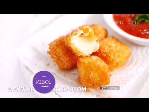 Makanan Indonesia dengan Topping Keju Mozzarella