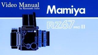 RZ67 професійний відео-посібник / 5 - номенклатура та функції