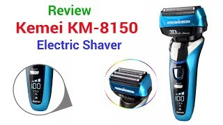 Review: Kemei KM 8150 Electric Shaver