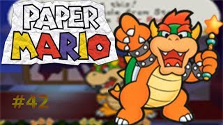 Llegada al castillo de Peach/Paper Mario capítulo 42