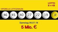 Lottozahlen 06.07.19 Lotto6aus49
