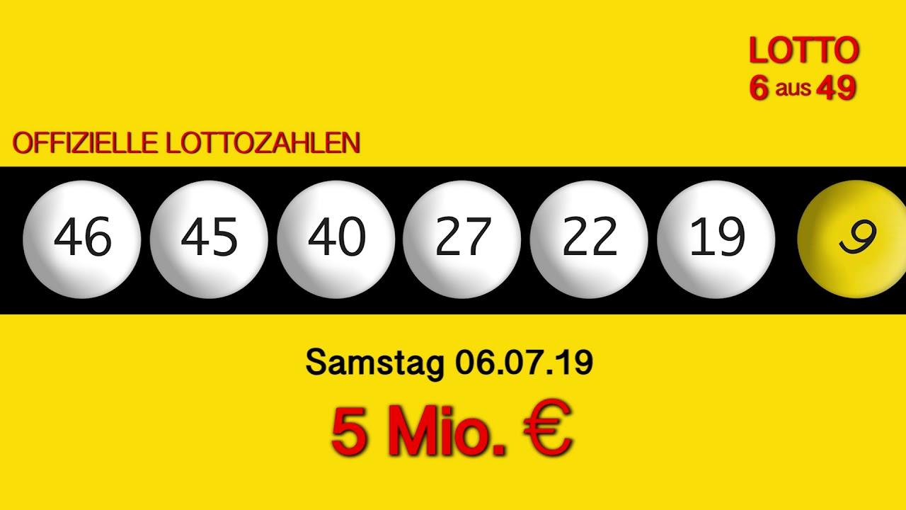 Lottozahlen 06.07.19