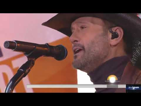 Tim McGraw & Faith Hill   |   Telluride (Live On Today Show, November 17, 2017)