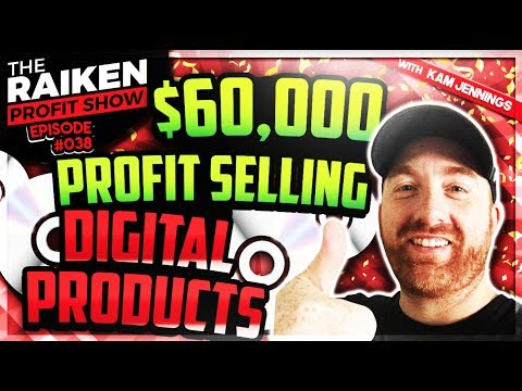How to Sell Digital Products Online ( $60K Profit in 12 Months )