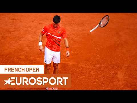 Best Racket Action Of The French Open: Smashes And Misses | Roland Garros 2019 | Eurosport