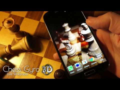 Holographic 3D Chess Live Wallpaper for Android