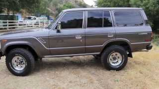 1988 FJ62 Land Cruiser For Sale at TLC 93K miles!