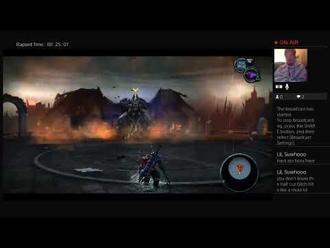Darcsiders remasterd  Bat boss fight