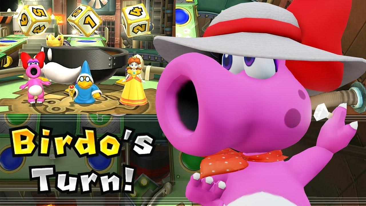 Mario Party 9 Solo Mode Birdo Bob Omb Factory Part 2 378 Youtube