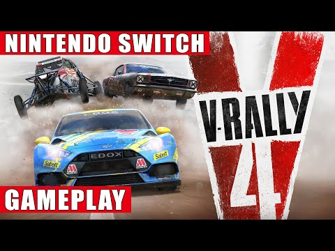 V-Rally 4 Nintendo Switch Gameplay