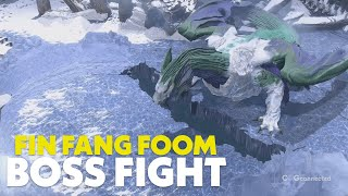Marvel's Guardians of the Galaxy - Fin Fang Foom Boss Fight