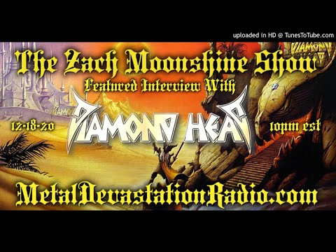 Diamond Head - Interview 2020 - The Zach Moonshine Show