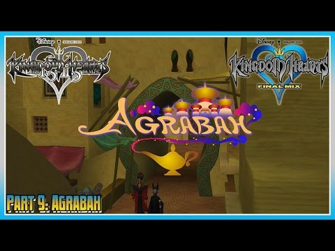 Kingdom Hearts HD 1.5 + 2.5 Remix - KHFM - Part 9: Agrabah