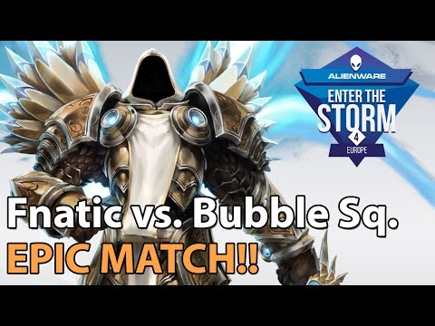 ► Heroes of the Storm Pro Gameplay: Fnatic vs. Bubble Squad - ETS EU Playoffs