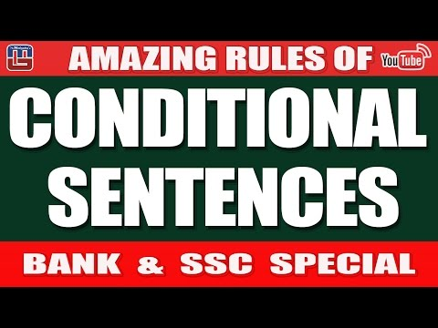 CONDITIONAL SENTENCES | ENGLISH | BANK & SSC SPECIAL