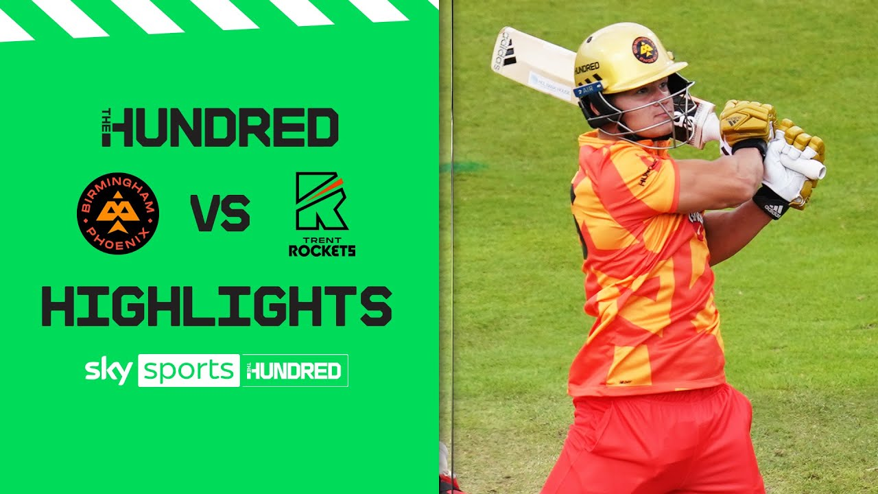 Allen and Smeed lead the way! ✨| Birmingham Phoenix vs Trent Rockets | The Hundred Highlights