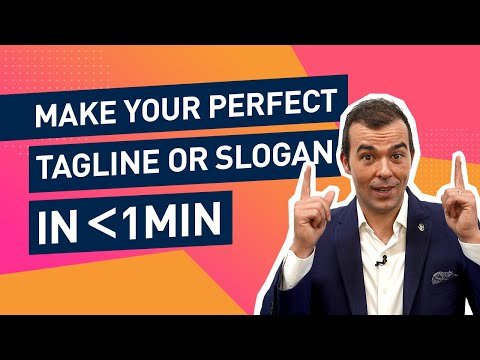 Tagline or Slogan [Which Brand Strategy Tool To Use] from YouTube · Duration:  5 minutes 7 seconds