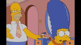 The Simpsons- Marge Suddenly Addicted To Food, Eat More Like Pigs !