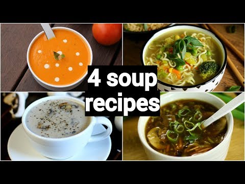 4-quick-&-easy-soup-recipes-|-classic-healthy-weight-loss-indian-soup-recipes