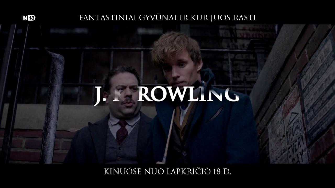 FANTASTINIAI GYVŪNAI IR KUR JUOS RASTI - patirkite magiją, viešpatavusią prieš Harį Poterį!