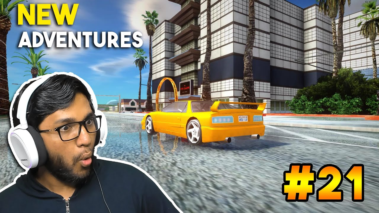 NEW ADVENTURES IN LV ! (GTA San Andreas Real Graphics Mod in Hindi Part 21)