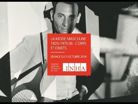 Séminaire | La Mode masculine 05/10/16 - Christopher Breward, suit, the cultural history of an idea