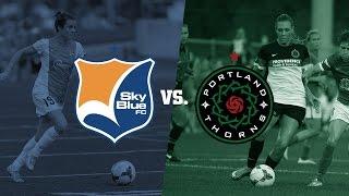 Sky Blue FC vs. Portland Thorns FC