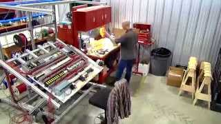 Time-lapse control panel assembly/building (Multico Electrique panel shop)