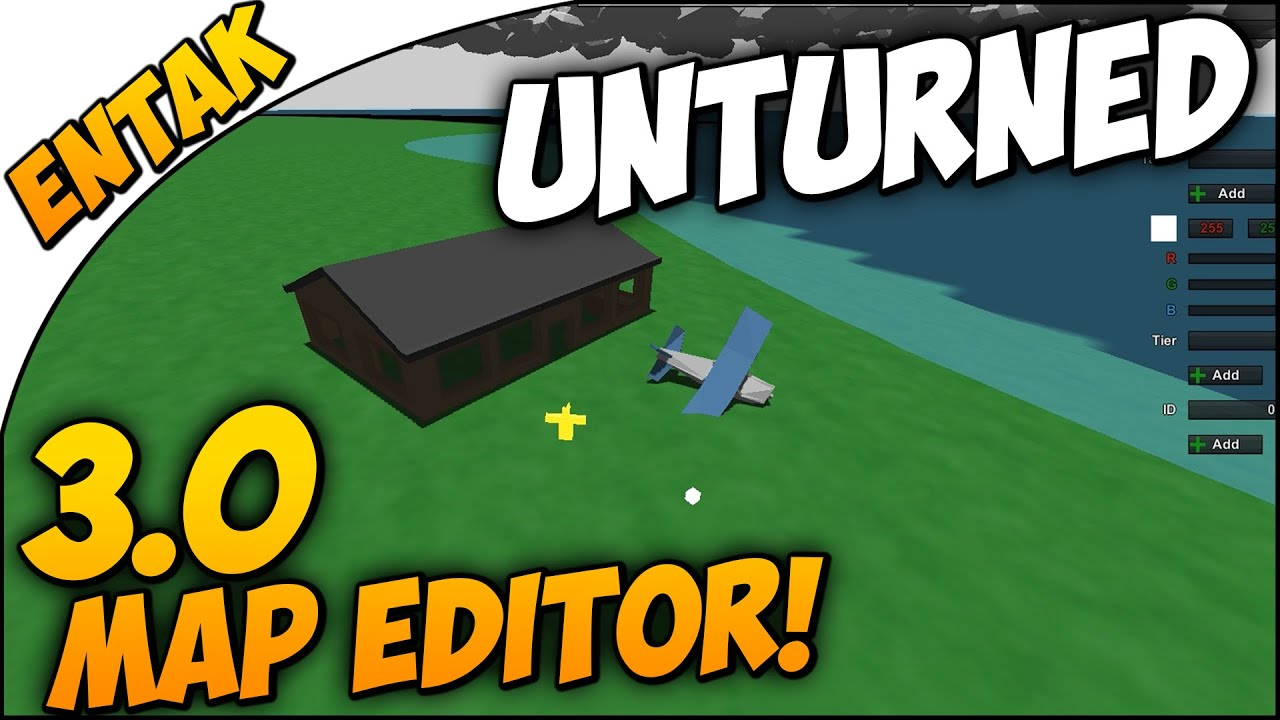 Unturned 30 map editor how to start off basics guide how unturned 30 map editor how to start off basics guide how to use the map editor youtube gumiabroncs Images