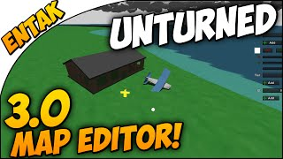 Unturned 3.0 ➤ MAP EDITOR - How To Start Off & Basics Guide - How To Use The Map Editor