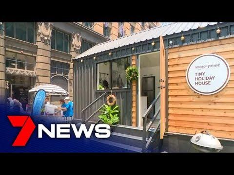 Amazon Enters Housing Market Selling Tiny Houses   7NEWS