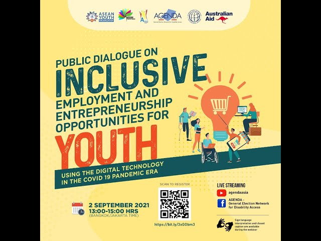 Public Dialogue on Inclusive Employment & Entrepreneurship for Youth Using Digital Technology