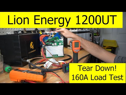 Lion Energy 1200 UT Tear Down: High Amp Stress Test and Low Temp Cut-off from YouTube · Duration:  10 minutes 12 seconds