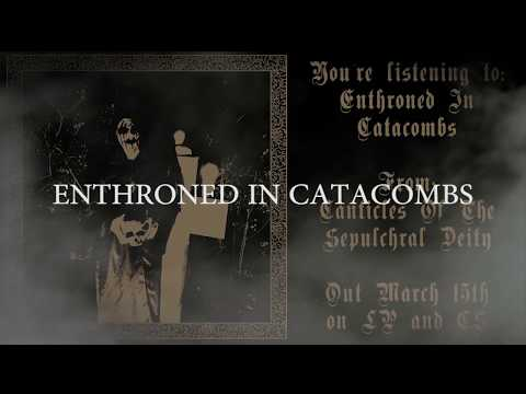 AKASHA - Enthroned In Catacombs (2019) Grey Matter Productions - LYRIC VIDEO Mp3